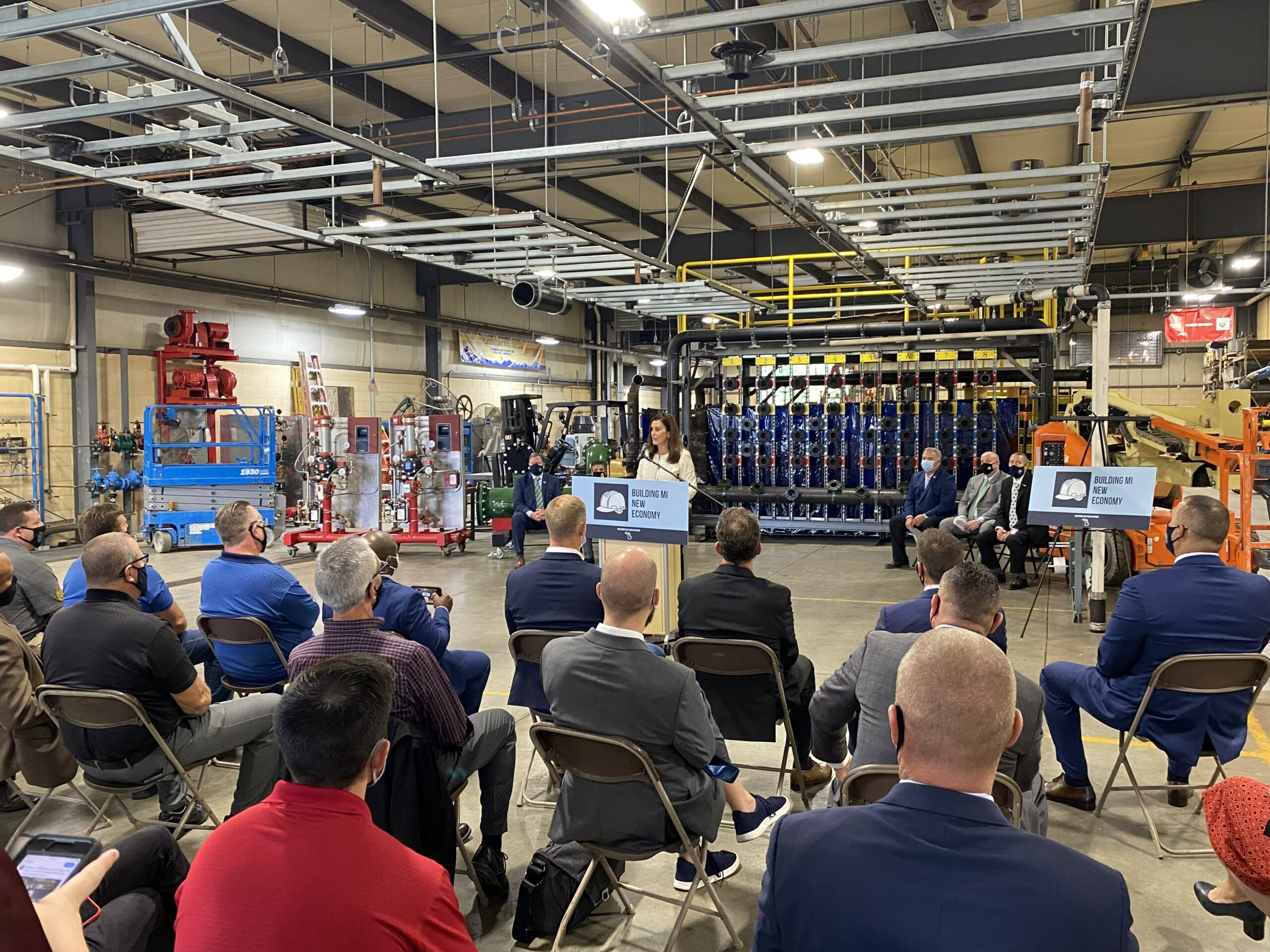 MICHIGAN AFL-CIO PRESIDENT REACTS TO GOVERNOR GRETCHEN WHITMER REINSTATING PREVAILING WAGE